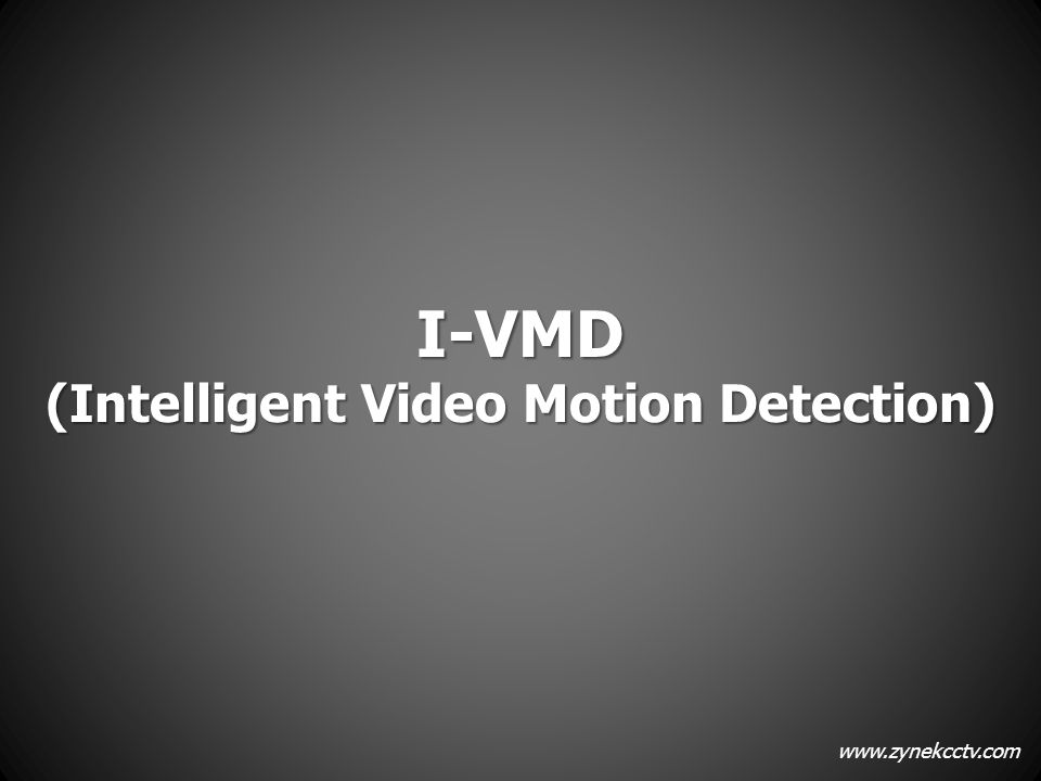 (Intelligent Video Motion Detection)