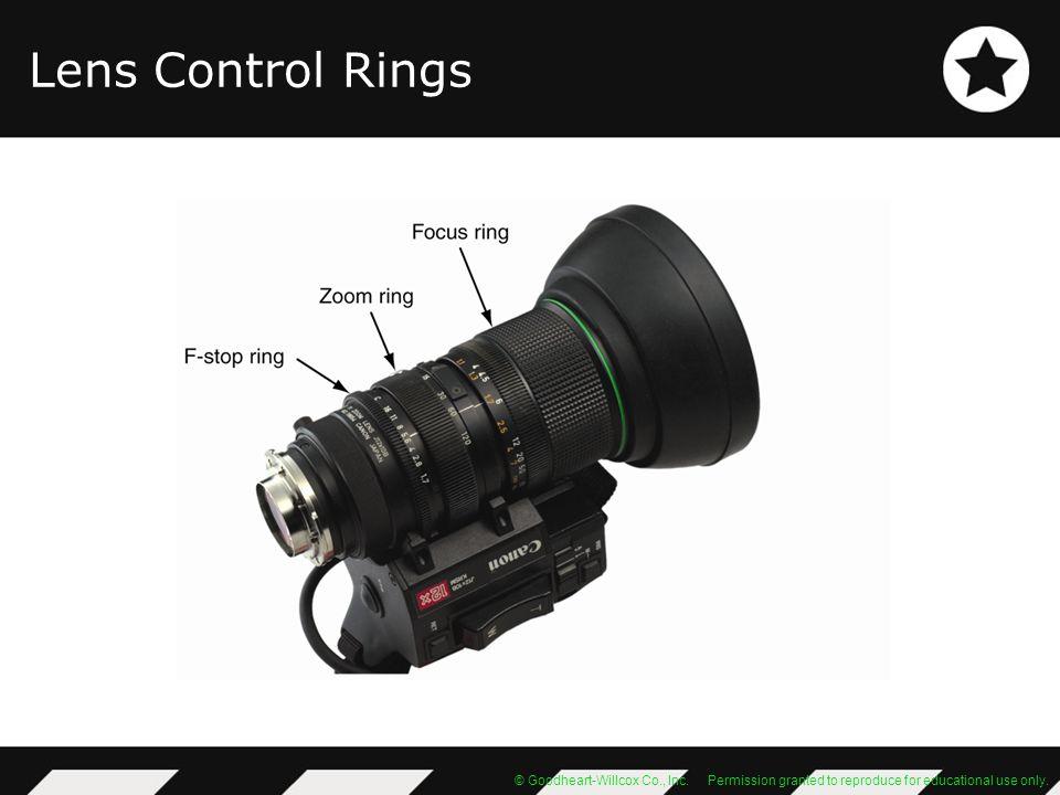 Lens Control Rings