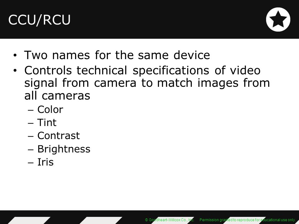 CCU/RCU Two names for the same device