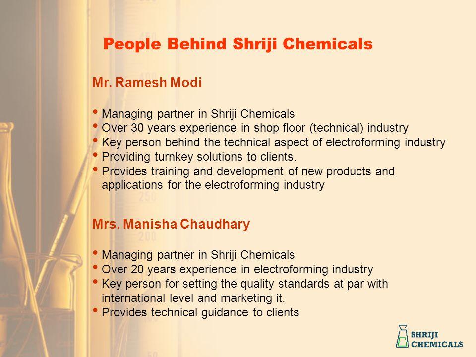 People Behind Shriji Chemicals
