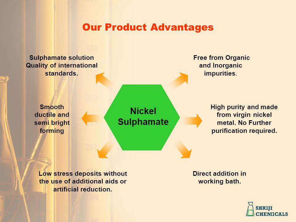 Our Product Advantages