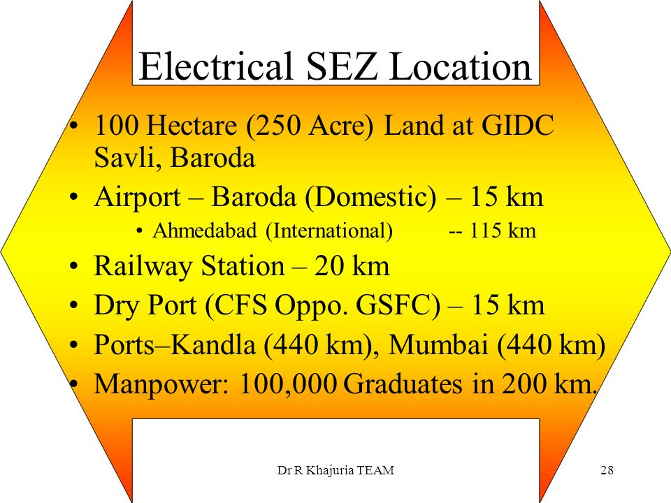 Electrical SEZ Location