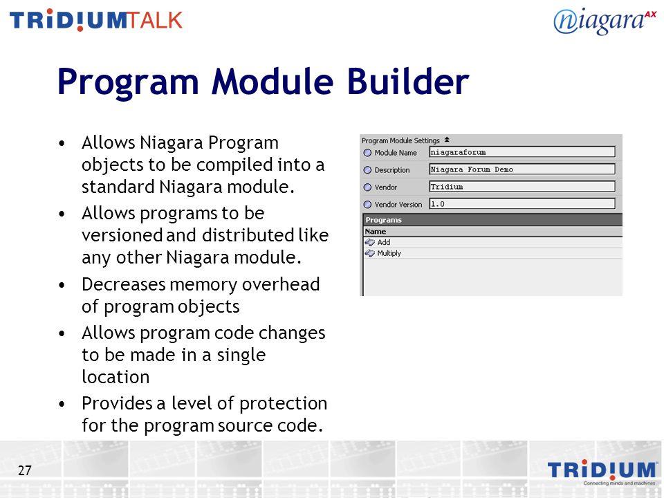 Program Module Builder