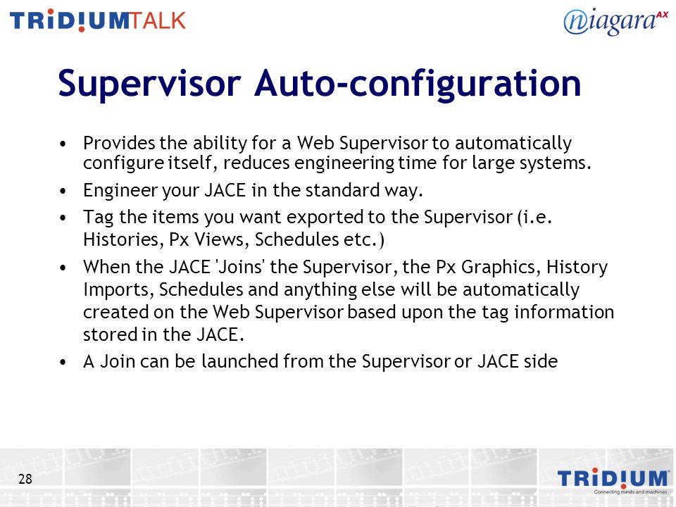 Supervisor Auto-configuration