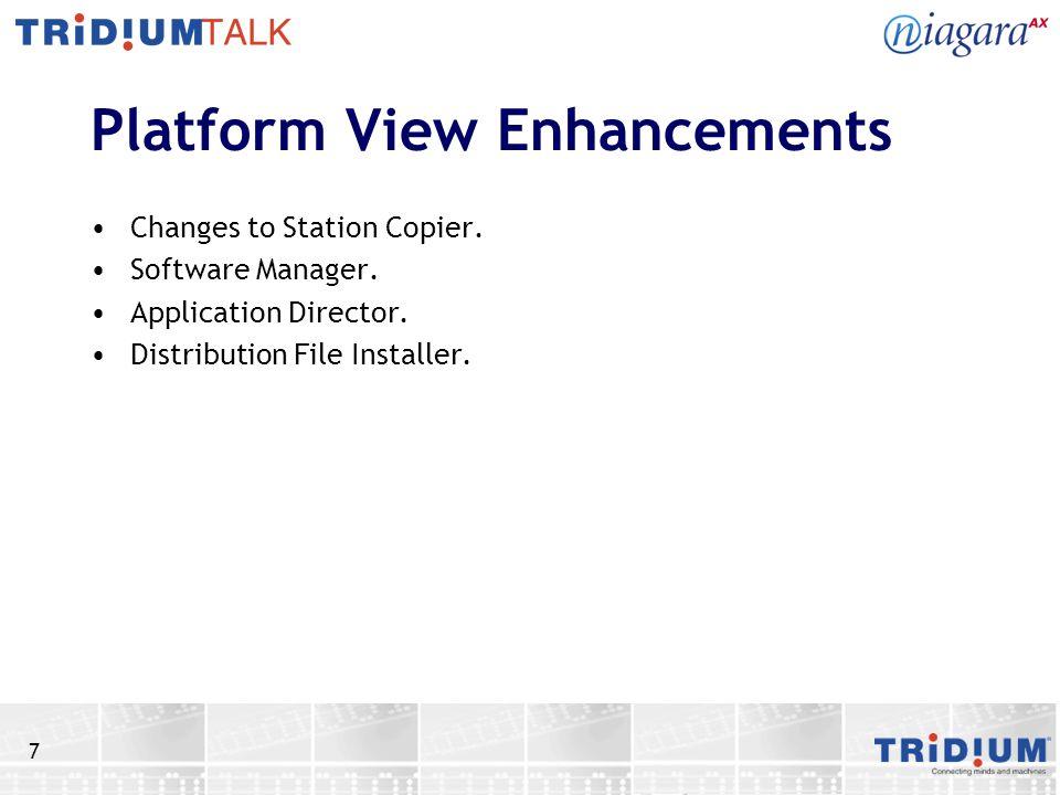 Platform View Enhancements