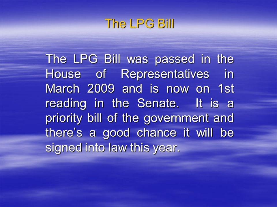 The LPG Bill