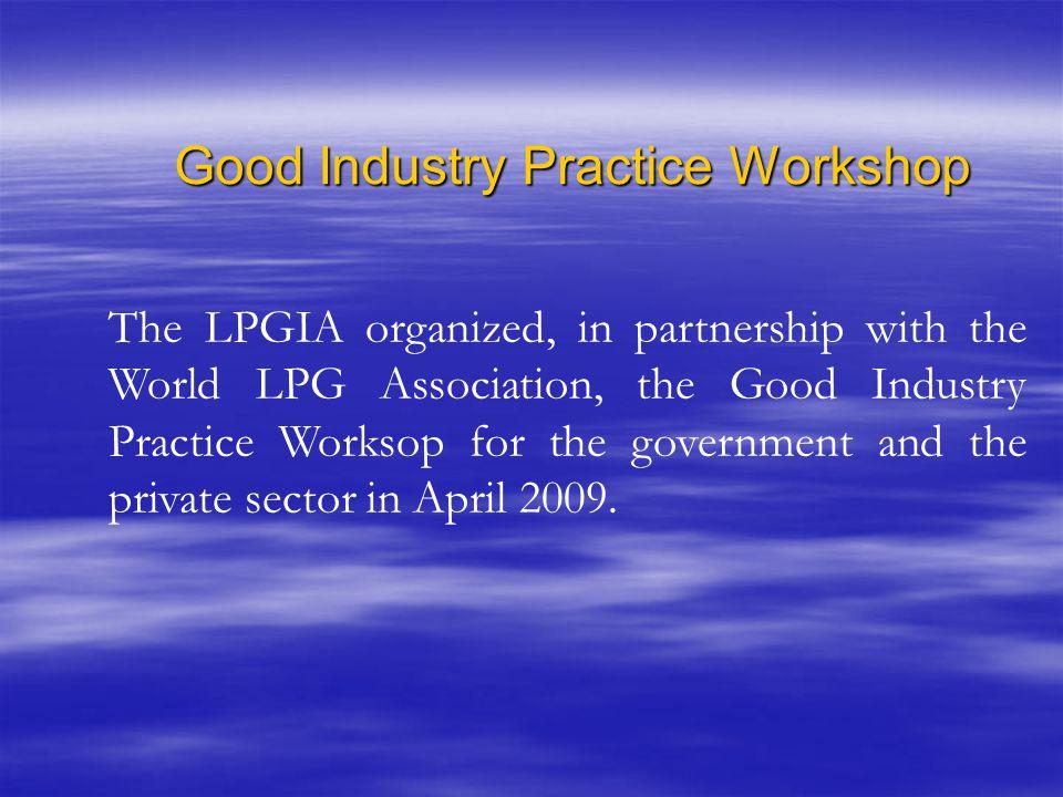 Good Industry Practice Workshop