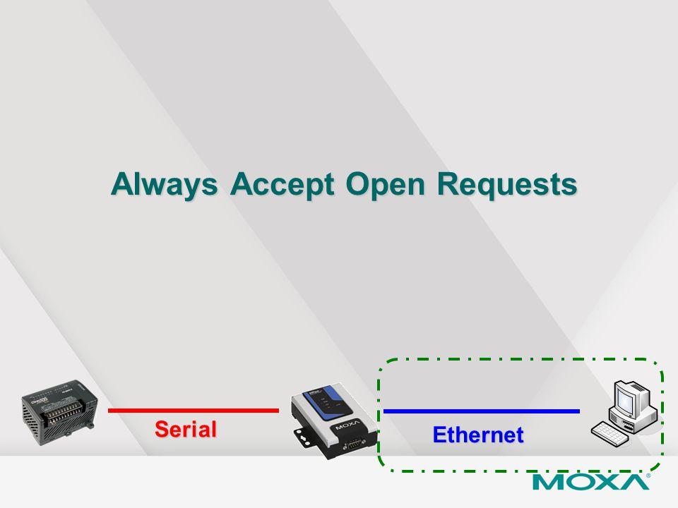 Always Accept Open Requests