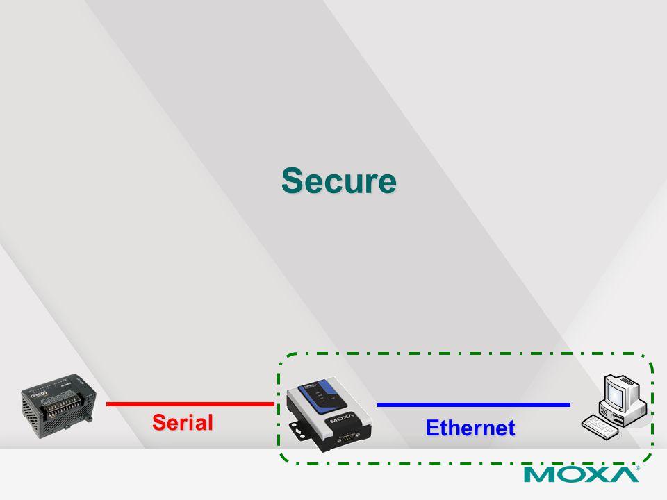 Secure Serial Ethernet