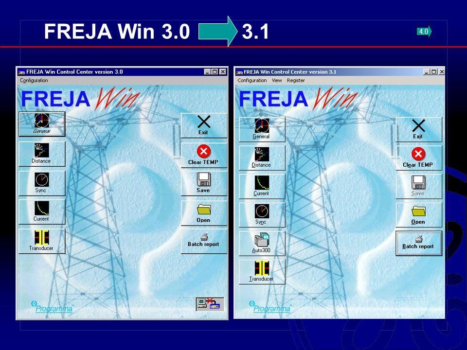 FREJA Win 3.0 3.1 4.0