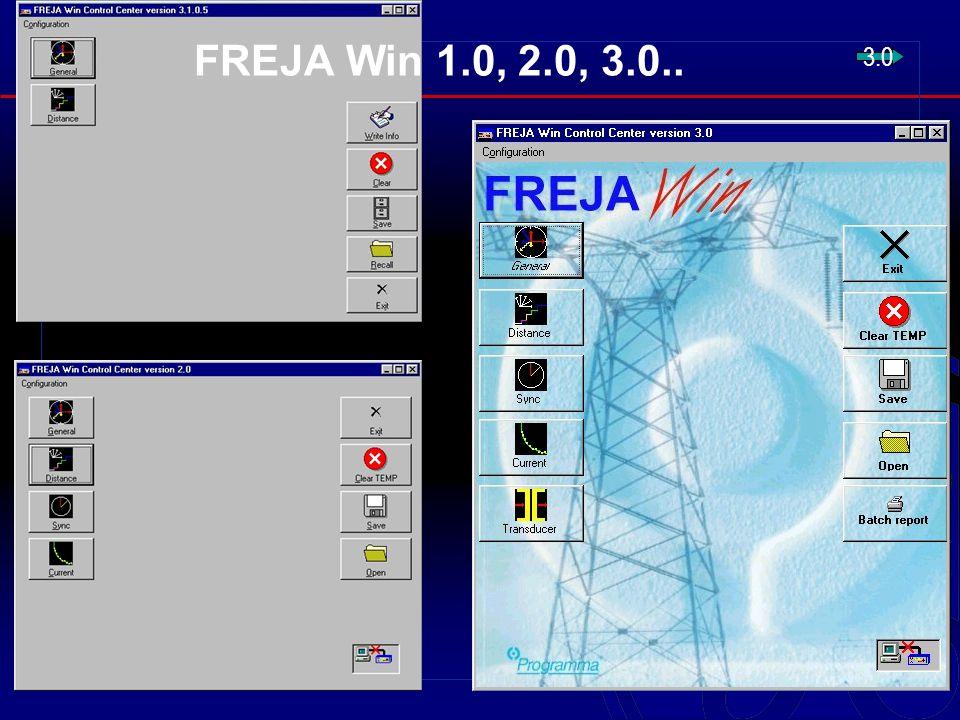 FREJA Win 1.0, 2.0, 3.0.. 3.0