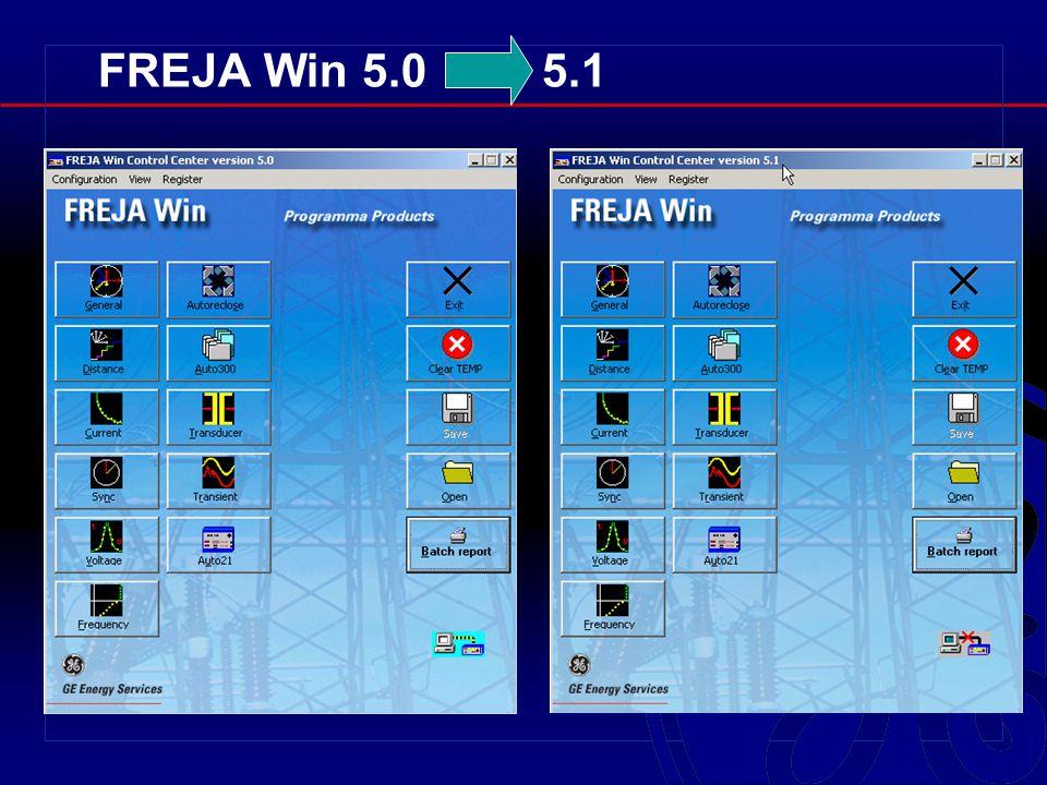 FREJA Win 5.0 5.1