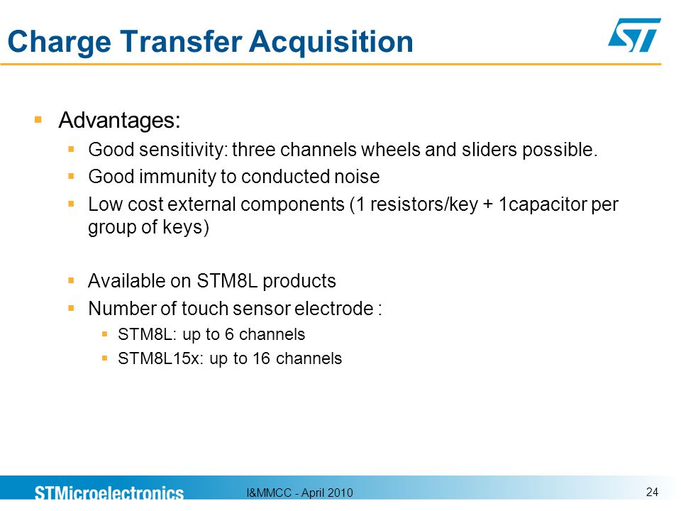 Charge Transfer Acquisition