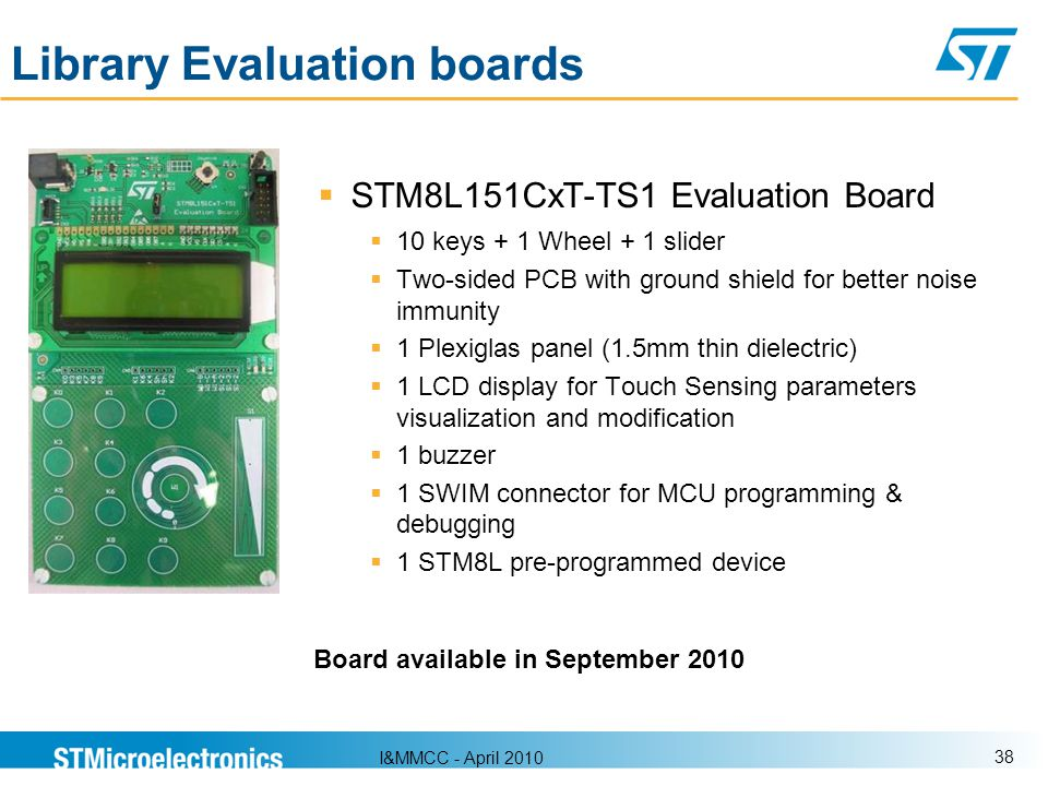 Library Evaluation boards