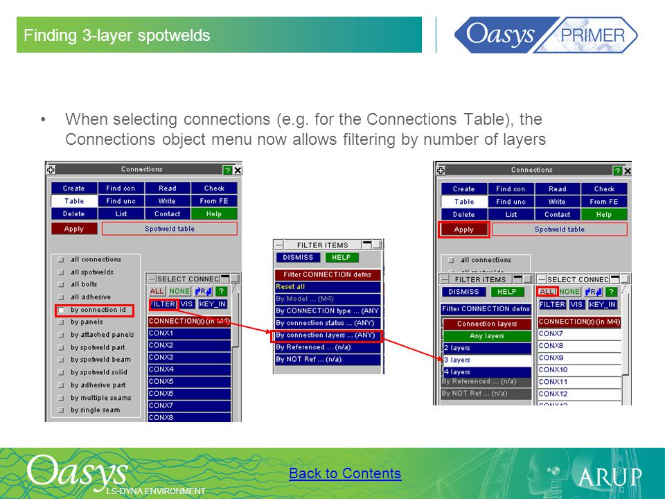 Finding 3-layer spotwelds