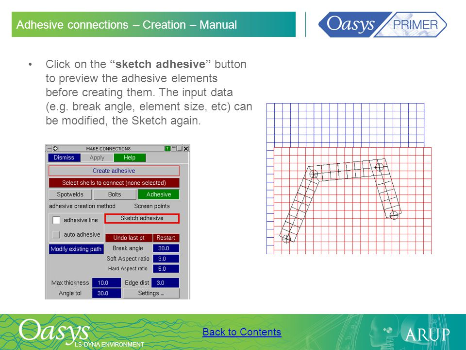 Adhesive connections – Creation – Manual
