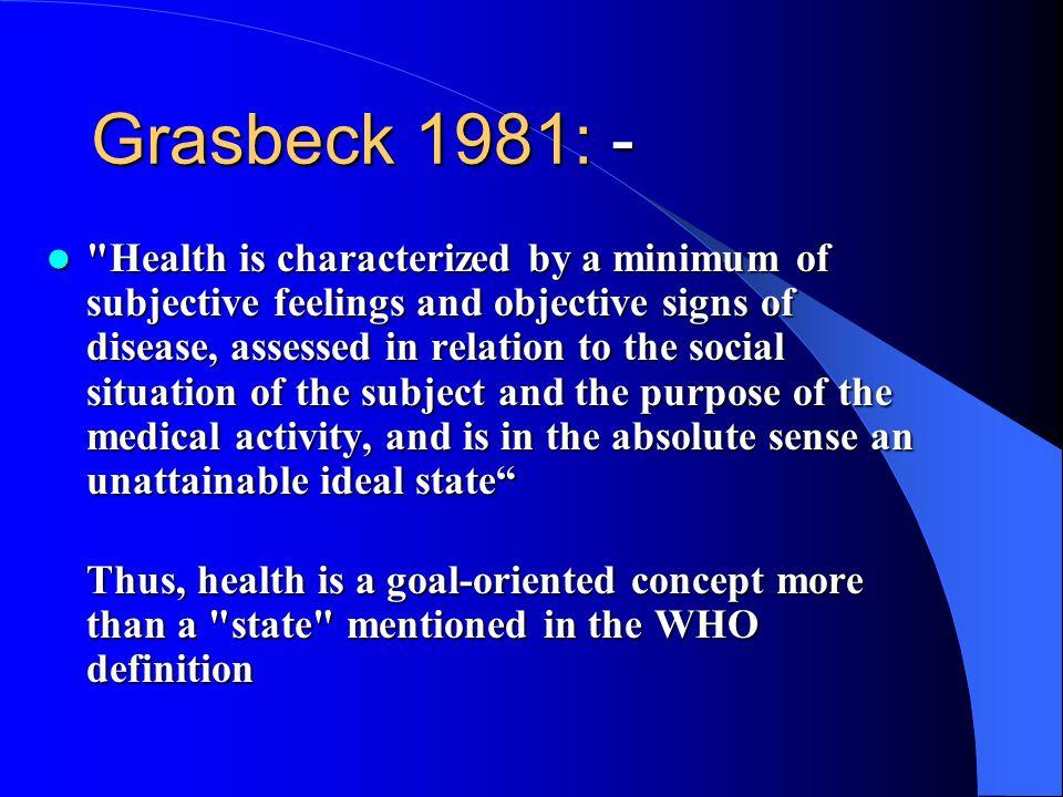 Grasbeck 1981: -