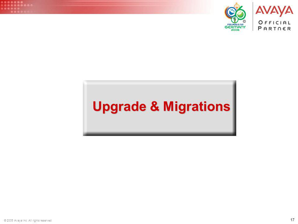 Upgrade & Migrations
