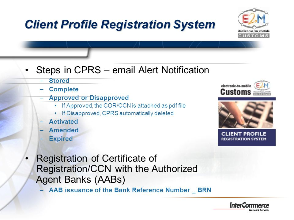 Client Profile Registration System