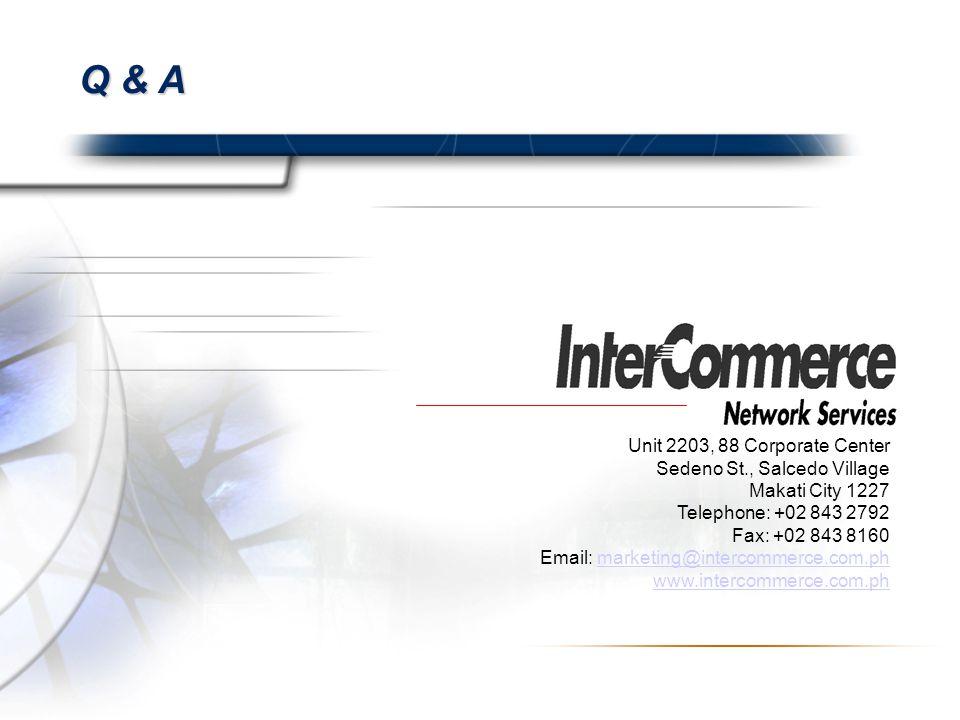 Q & A Unit 2203, 88 Corporate Center Sedeno St., Salcedo Village