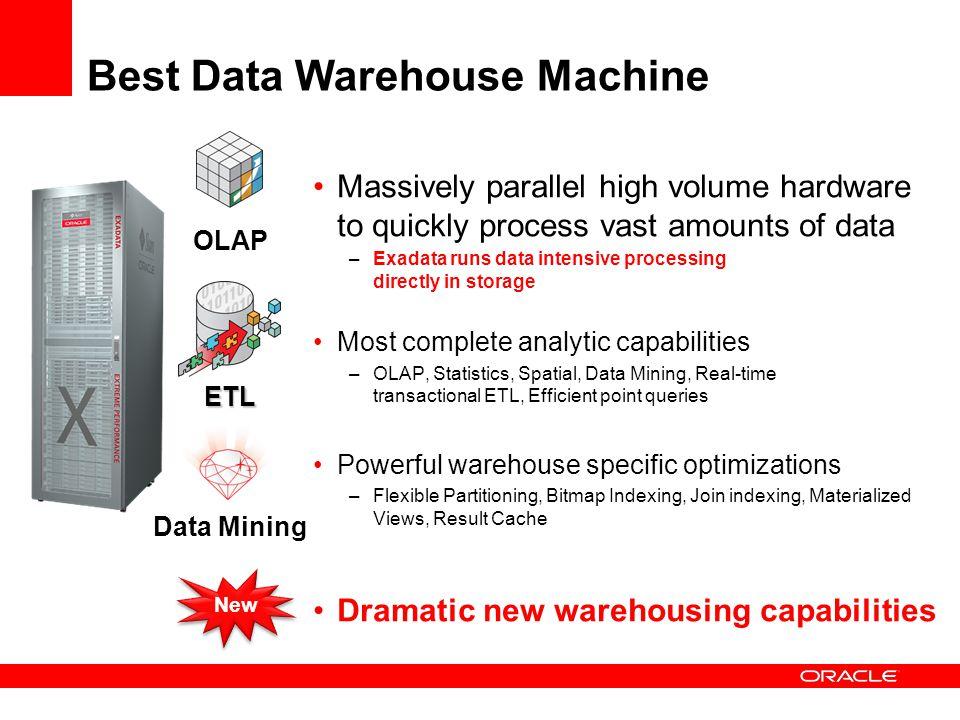 Best Data Warehouse Machine