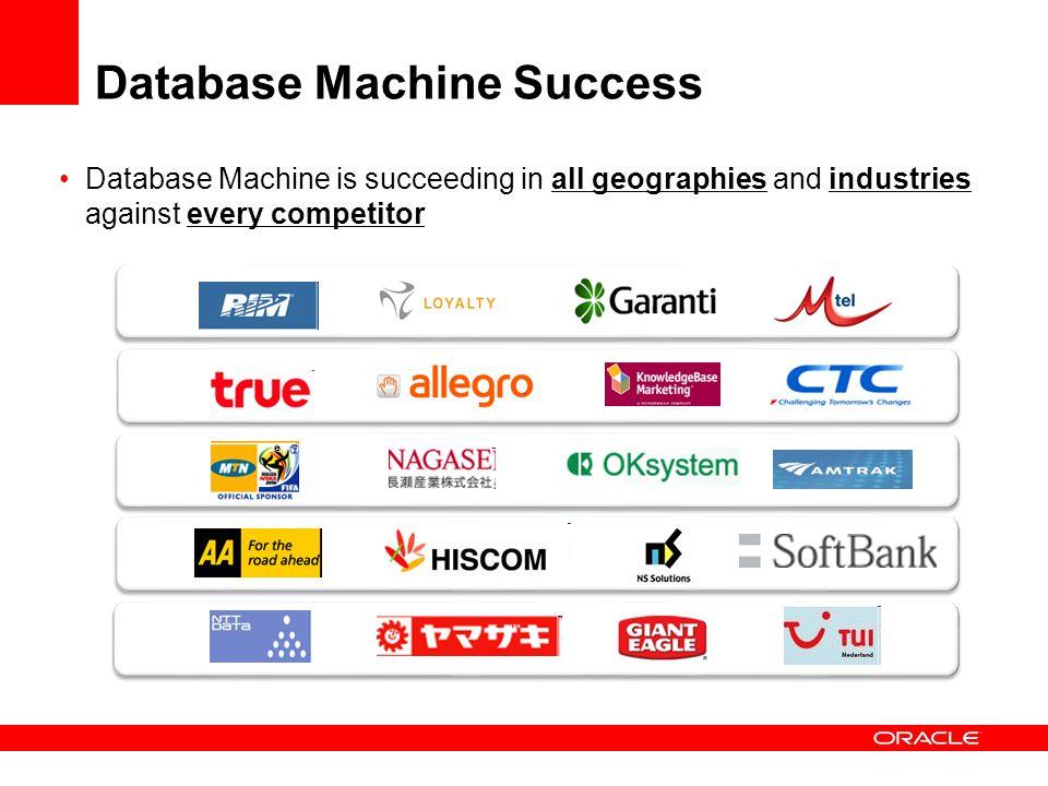 Database Machine Success