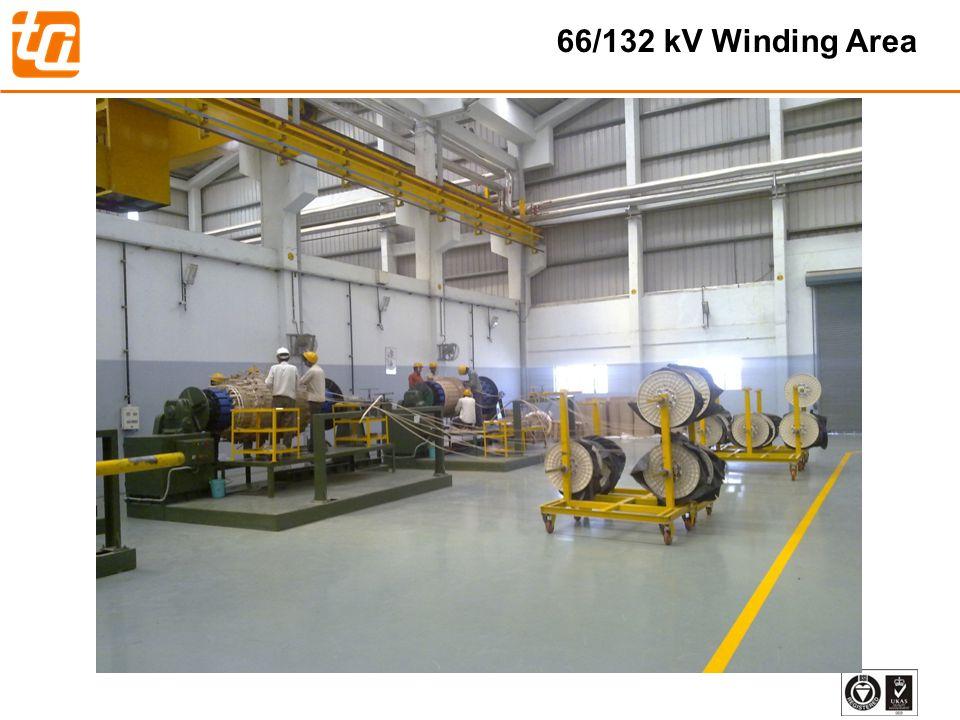 66/132 kV Winding Area