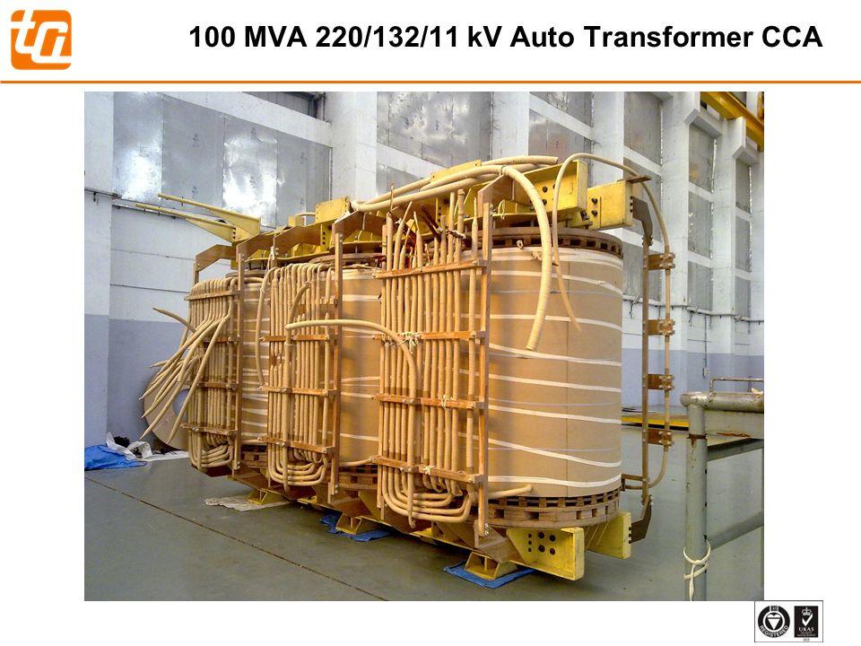 100 MVA 220/132/11 kV Auto Transformer CCA