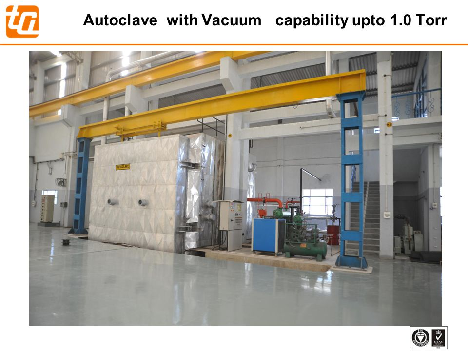 Autoclave with Vacuum capability upto 1.0 Torr