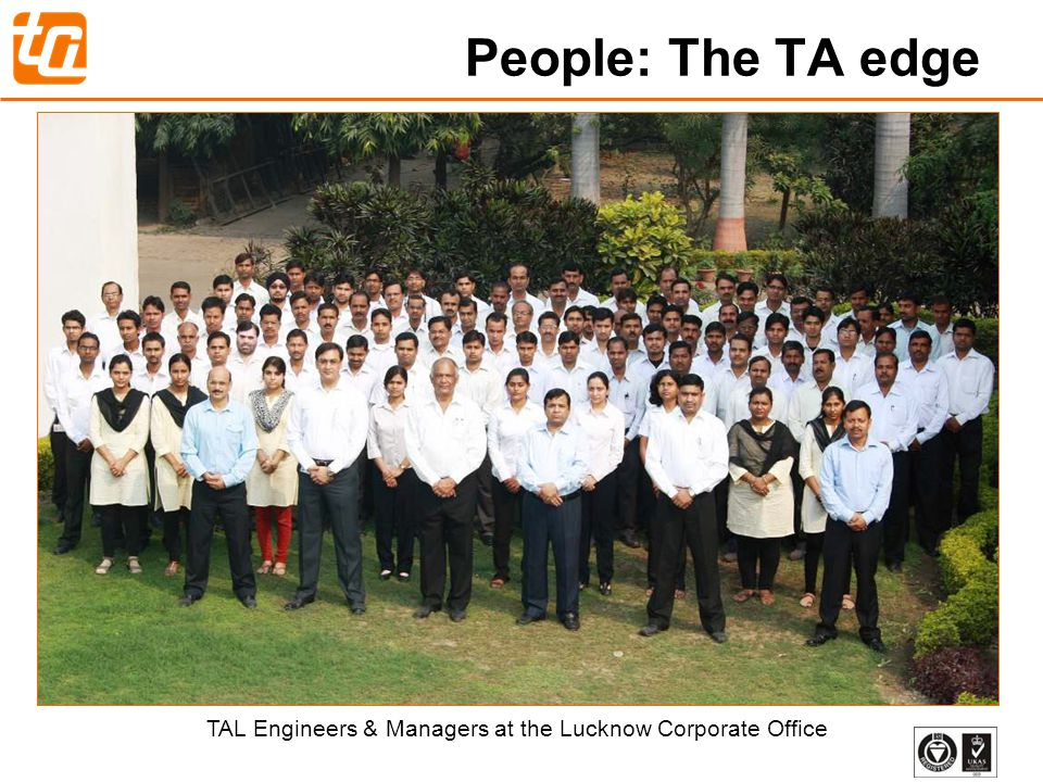 TAL Engineers & Managers at the Lucknow Corporate Office