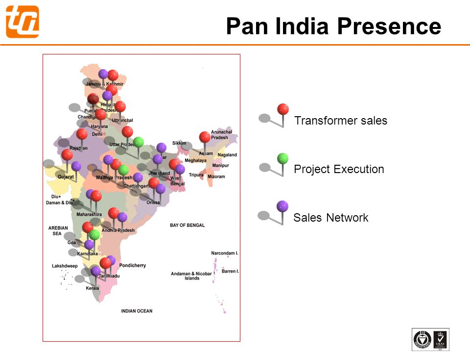 Pan India Presence Transformer sales Project Execution Sales Network