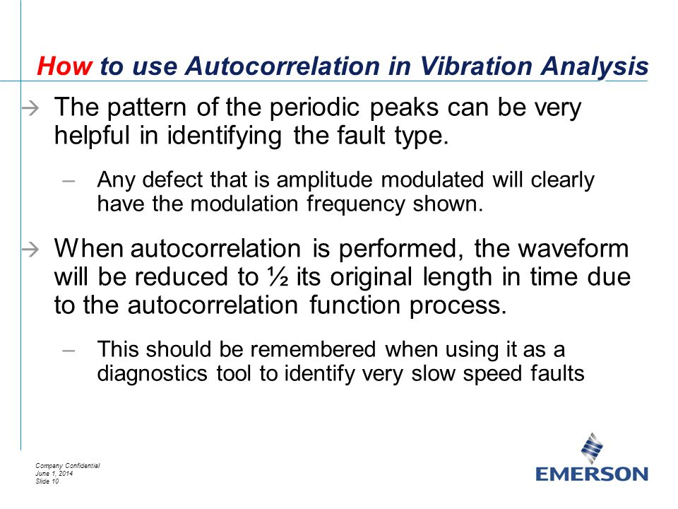 How to use Autocorrelation in Vibration Analysis