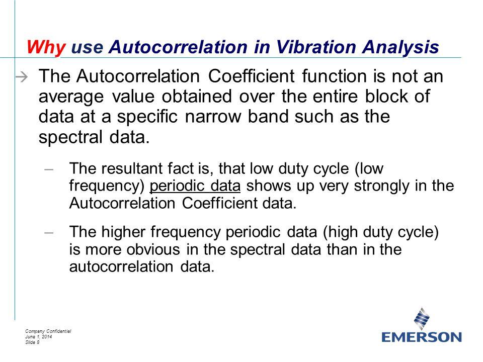 Why use Autocorrelation in Vibration Analysis