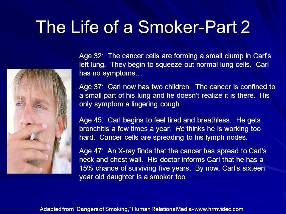 The Life of a Smoker-Part 2