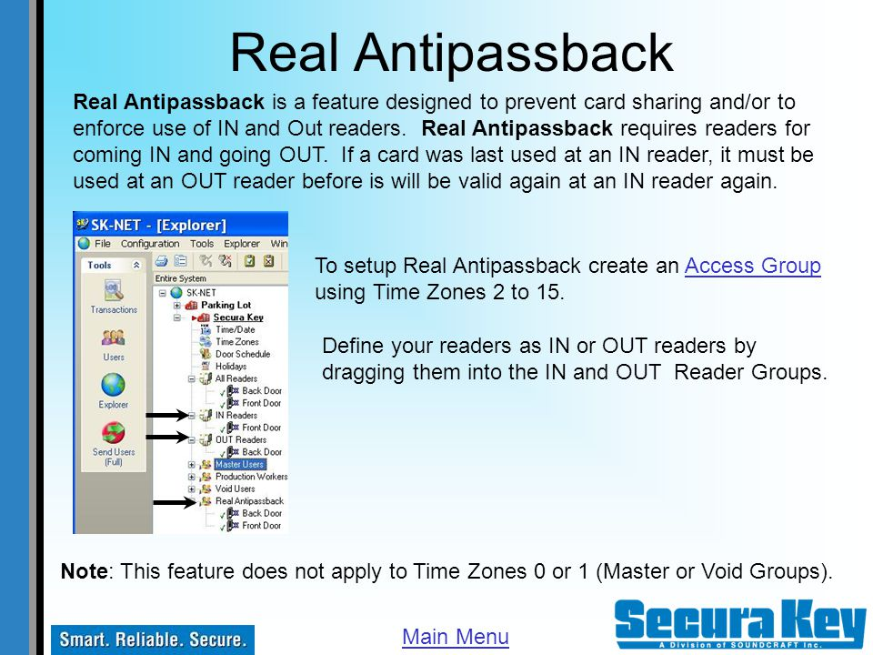 Real Antipassback