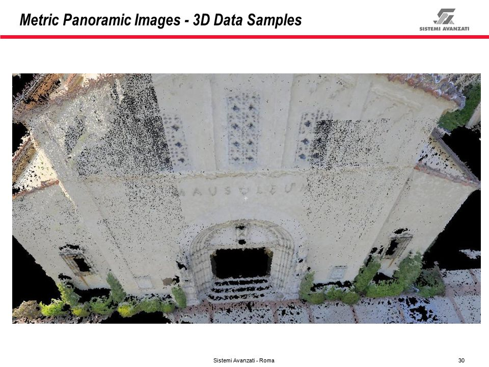 Metric Panoramic Images - 3D Data Samples