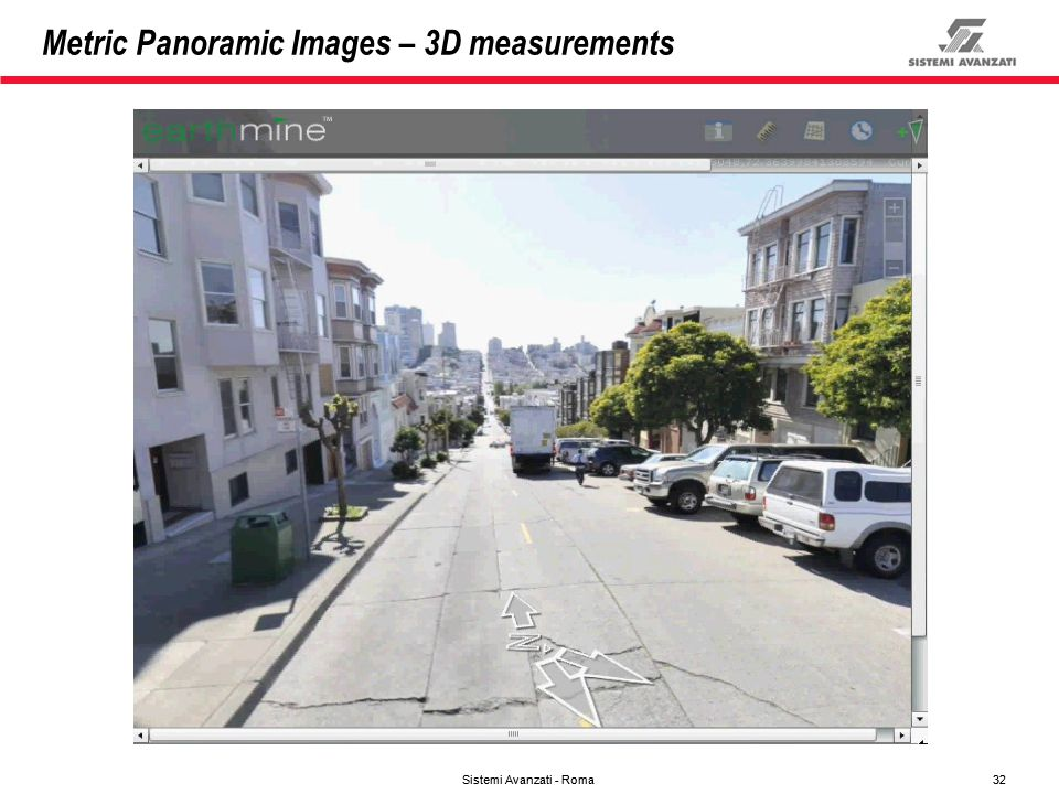 Metric Panoramic Images – 3D measurements