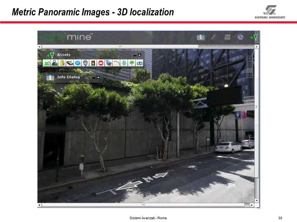Metric Panoramic Images - 3D localization