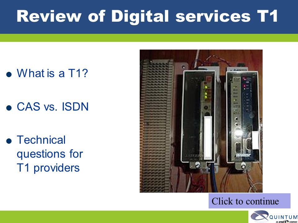 Review of Digital services T1