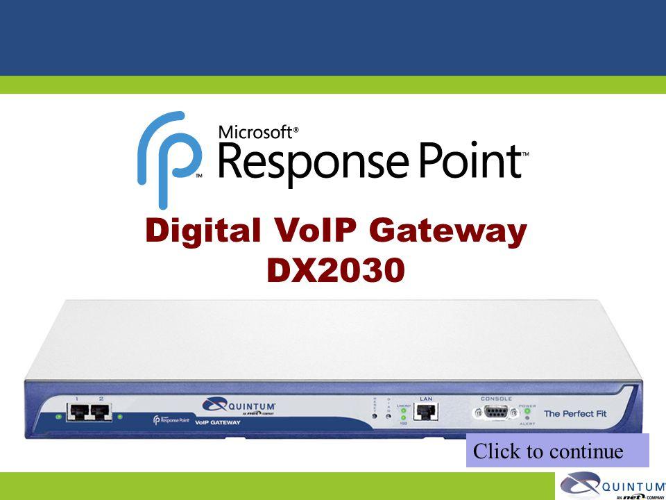 Digital VoIP Gateway DX2030