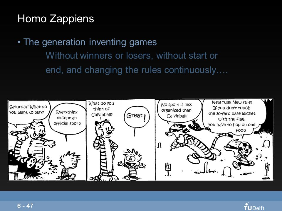 Homo Zappiens The generation inventing games