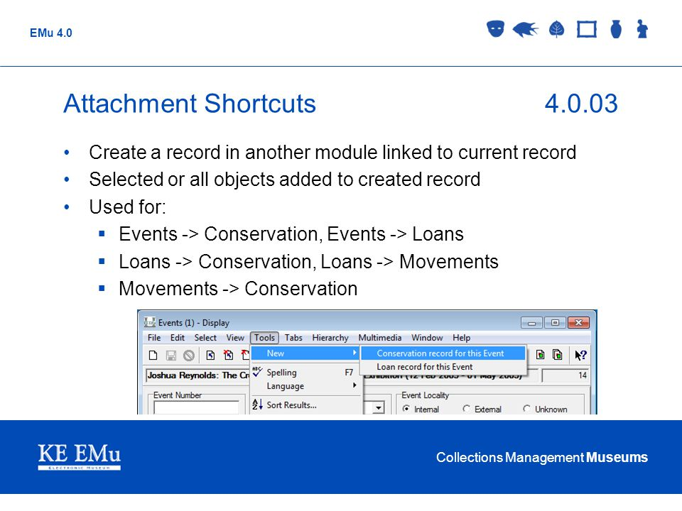 Attachment Shortcuts 4.0.03 Create a record in another module linked to current record. Selected or all objects added to created record.