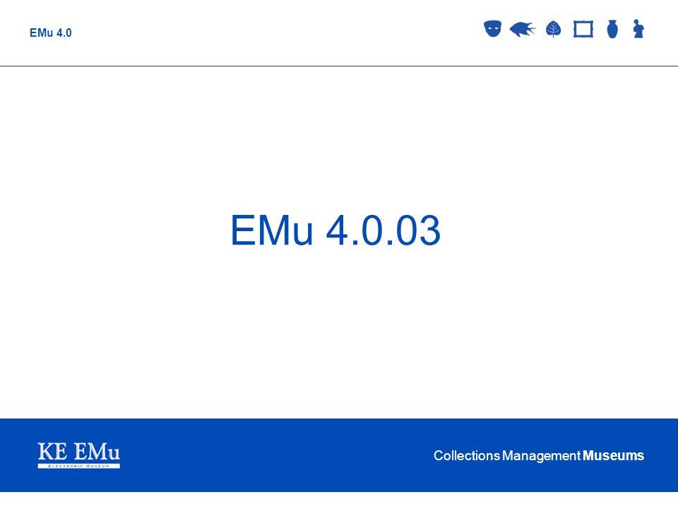 EMu 4.0.03