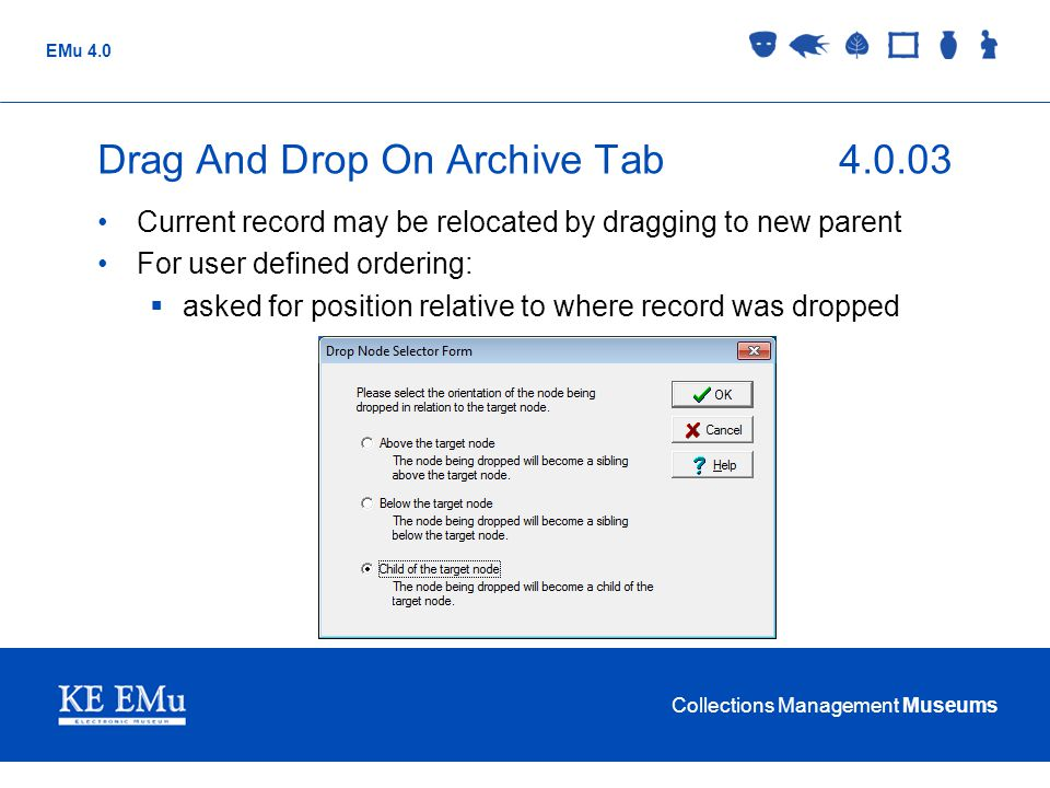 Drag And Drop On Archive Tab 4.0.03