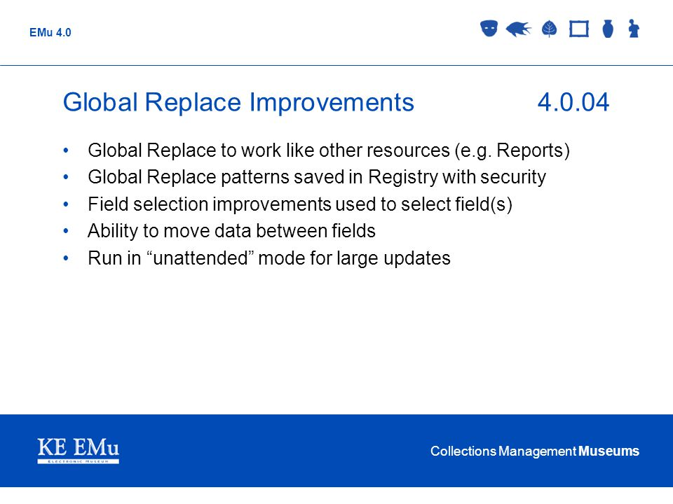 Global Replace Improvements 4.0.04