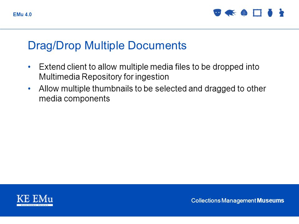 Drag/Drop Multiple Documents