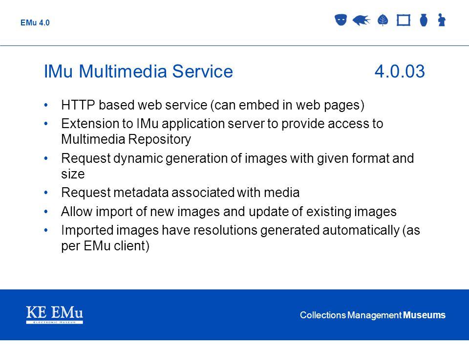 IMu Multimedia Service 4.0.03