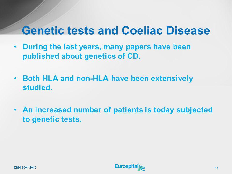 Genetic tests and Coeliac Disease