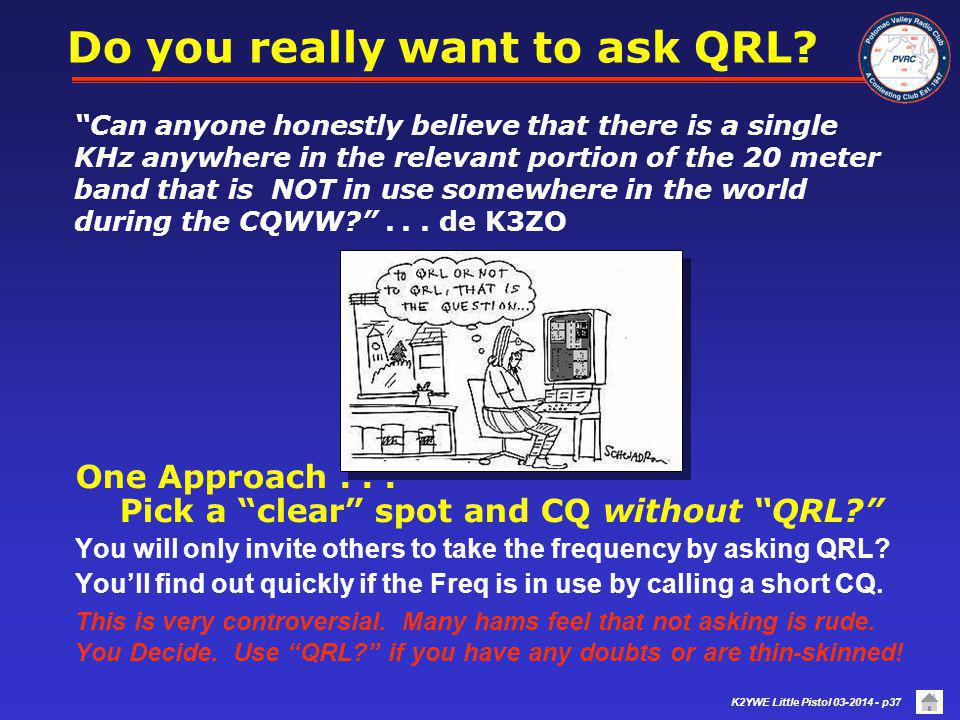 Do you really want to ask QRL