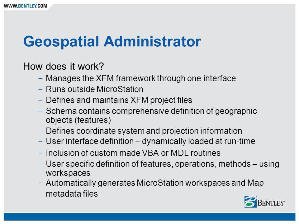Geospatial Administrator
